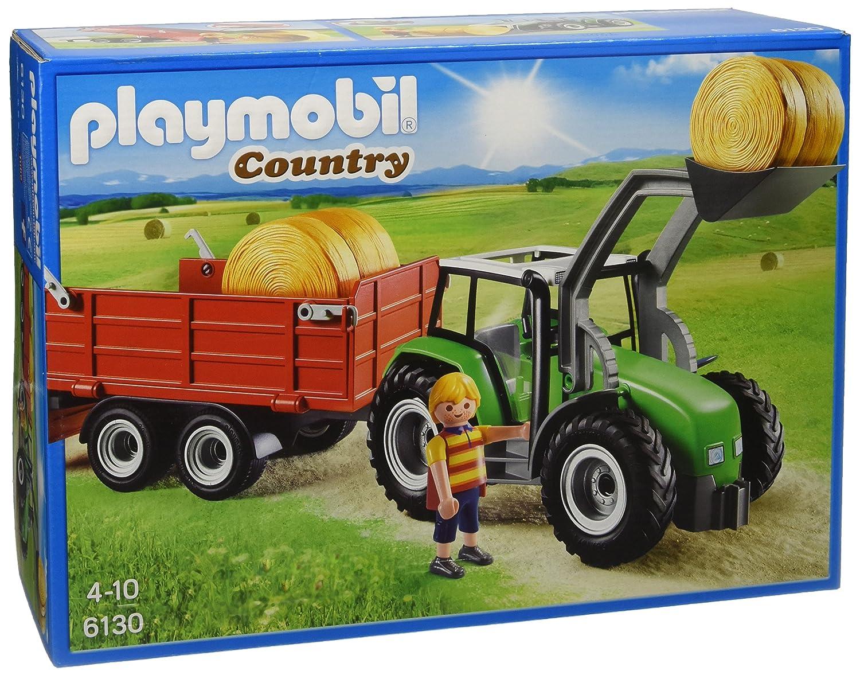 Playmobil Tractor con tráiler