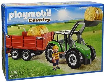 Playmobil 6130 Jeu Tracteur Avec Et De Construction Pelle shQrdCtx