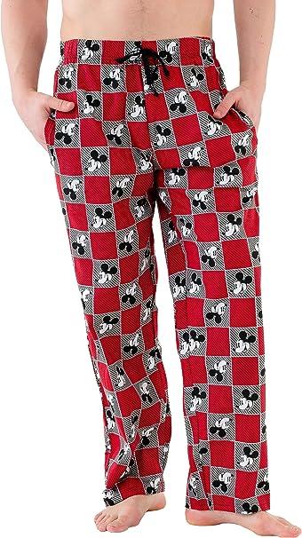 Disney Mickey Mouse - Pantalones de Pijama para Hombre: Amazon.es: Ropa y accesorios