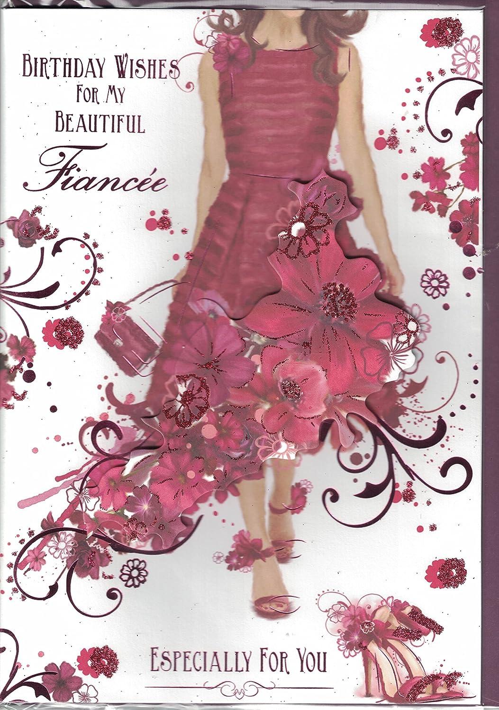 Fiancee Birthday Card Birthday Wishes For My Beautiful Fiancee – Fiancee Birthday Card