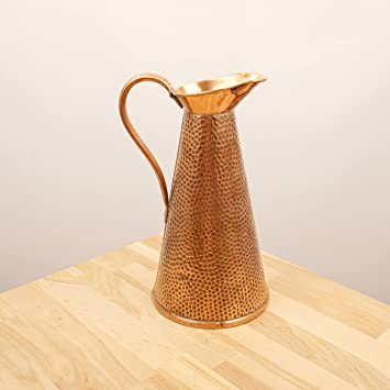Amazon Antique Copper Jug Pitcher Vase With Hammered
