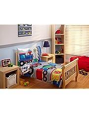 Everything Kids by NoJo Toddler Bedding Set, Choo Choo