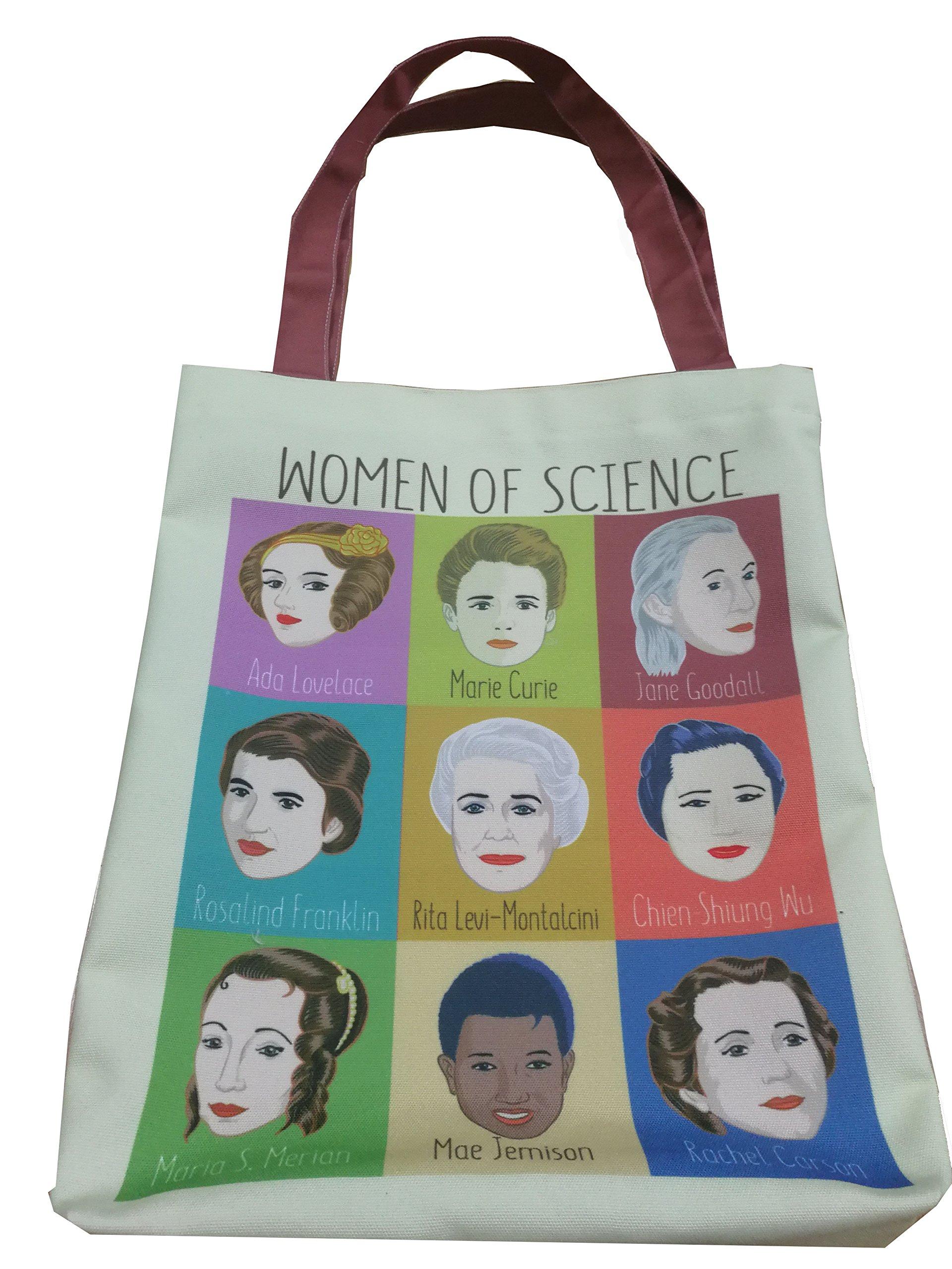 9 Women of Science Tote Bag