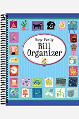 Busy Family Bill Organizer Spiral-bound