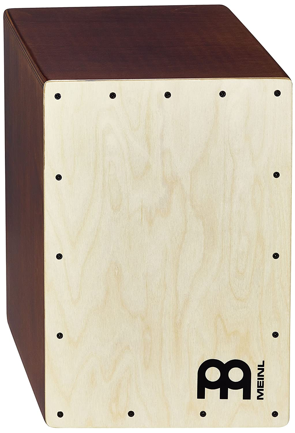 Meinl Percussion JC50LBNT Birch Wood Compact Jam Cajon with Internal Snares, Light Brown