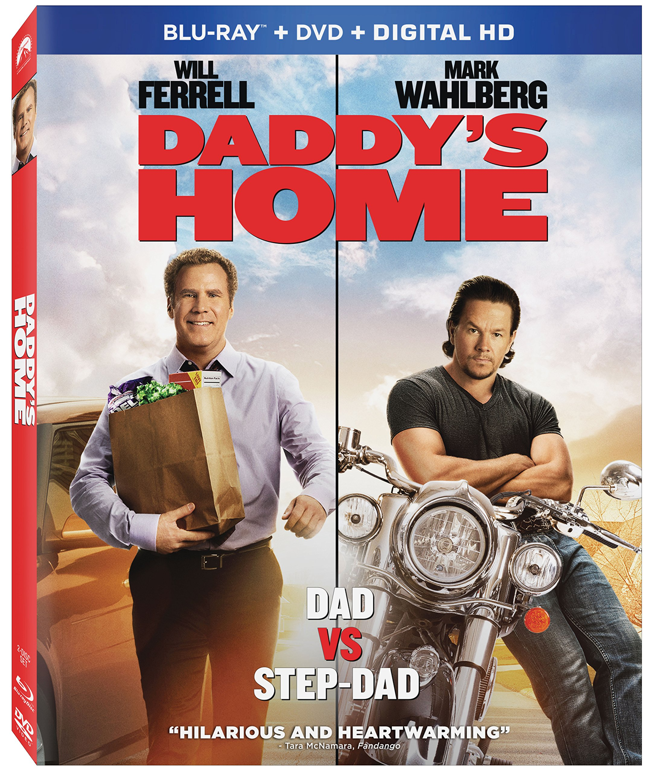 Blu-ray : Daddy's Home (With DVD, Widescreen, Digital Theater System, Dubbed, )
