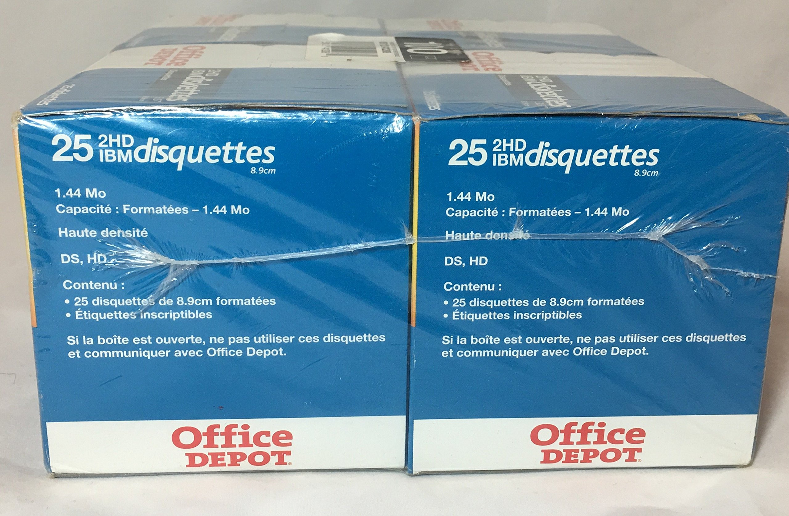 Office Depot Brand 3 1/2'' Bulk Diskettes, IBM Format, 2HD, Black, Box Of 100 by Office Depot (Image #3)