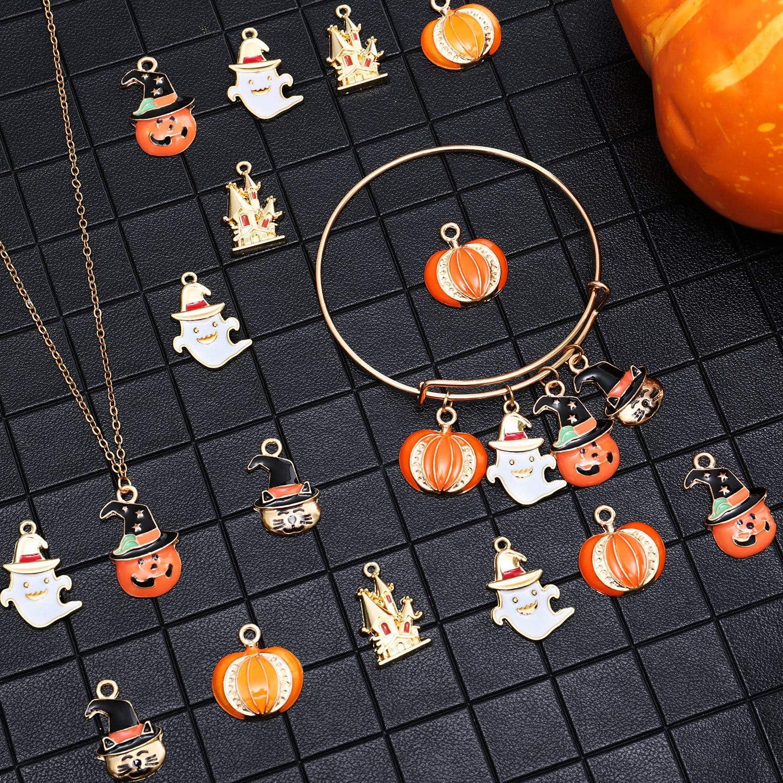 Assorted Alloy Enamel Charms Pendants DIY For Necklace Bracelet Crafting