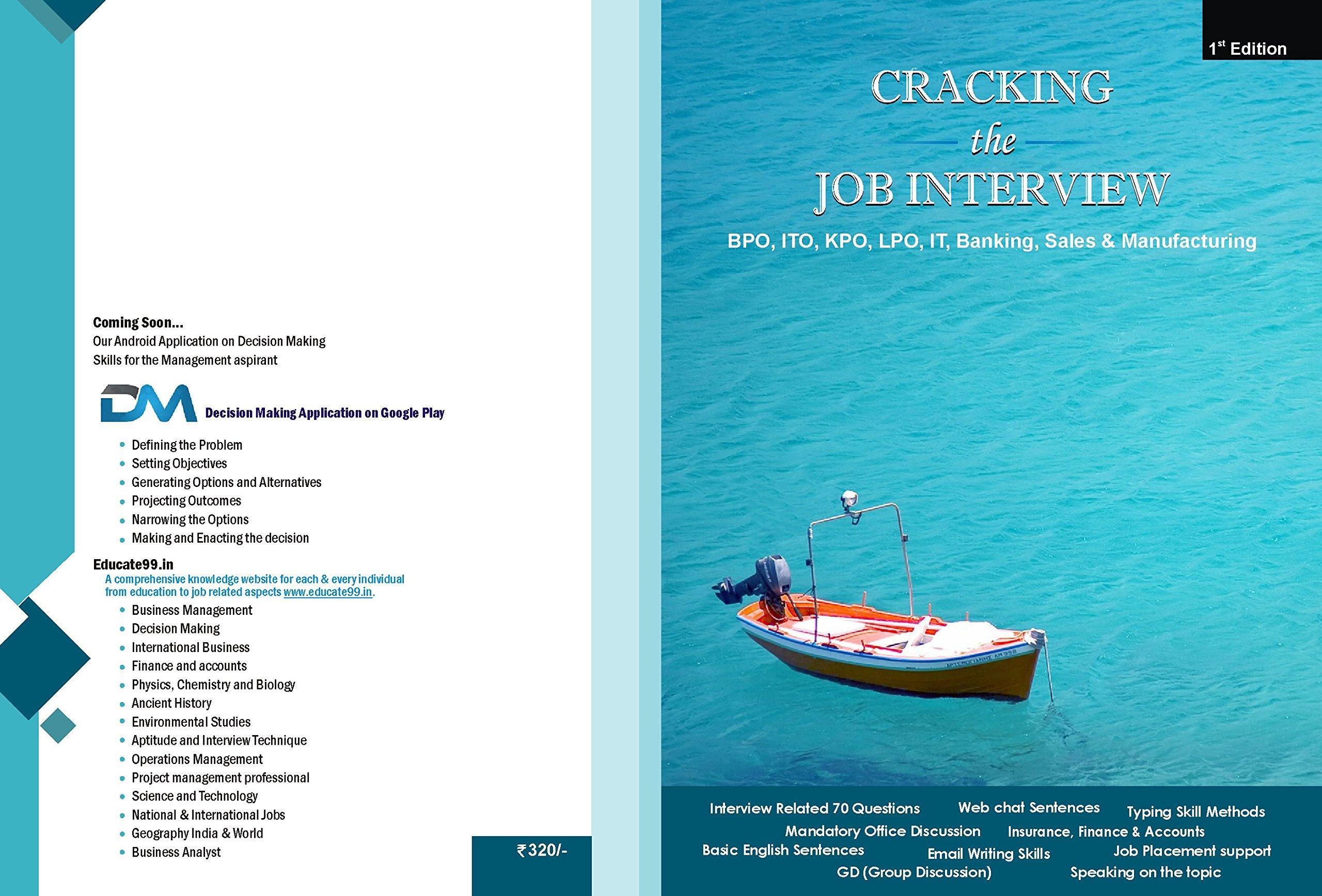 Buy Cracking the Job Interview (BPO, KPO, LPO, ITO, IT
