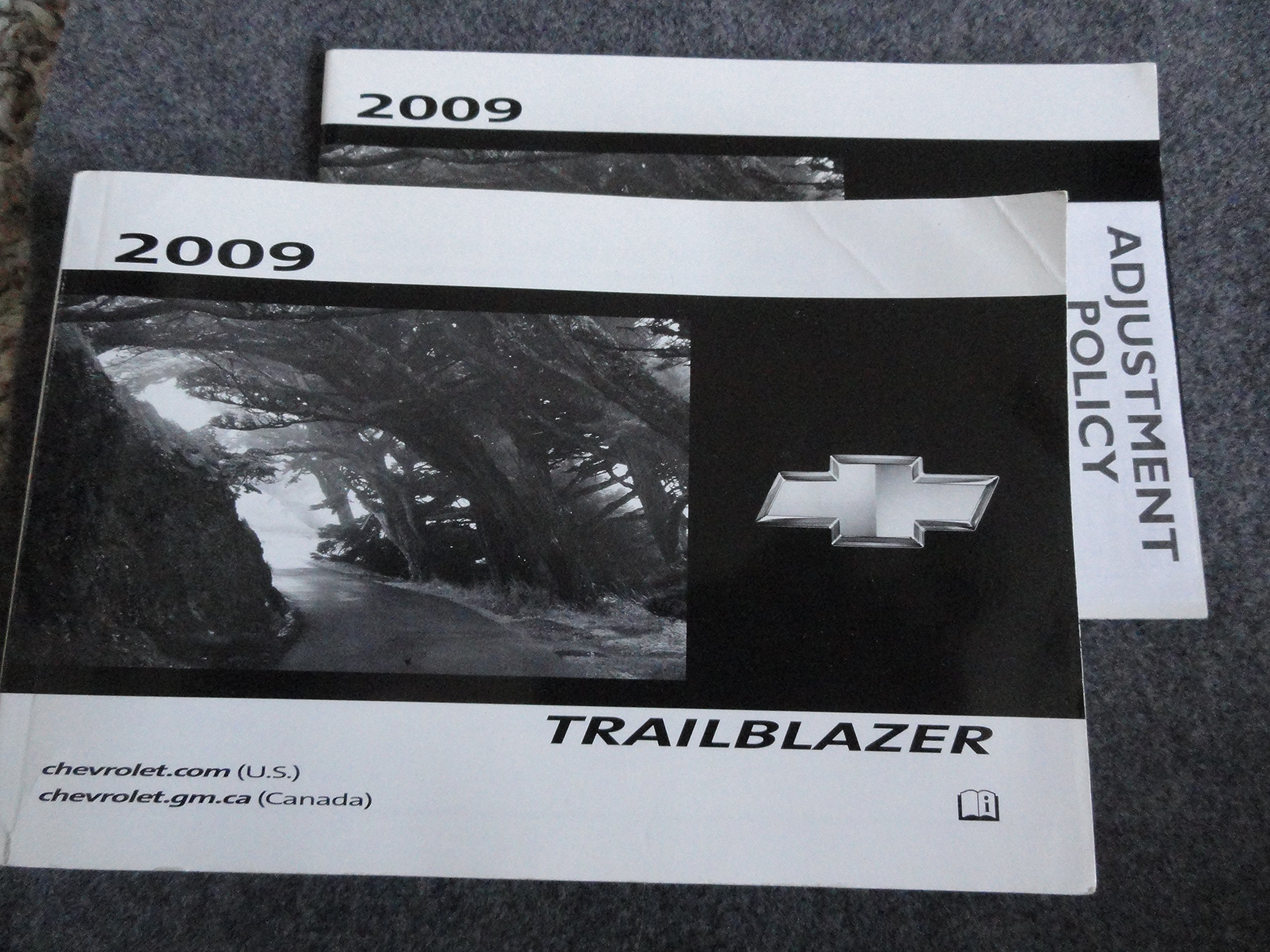 2009 chevy chevrolet trailblazer owners manual