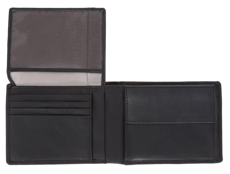 2d5f186dccc31 BRAUN BÜFFEL Geldbörse Terra Herren Leder Geldbeutel Börse Wallet 180  Schwarz +Etui  Amazon.de  Koffer