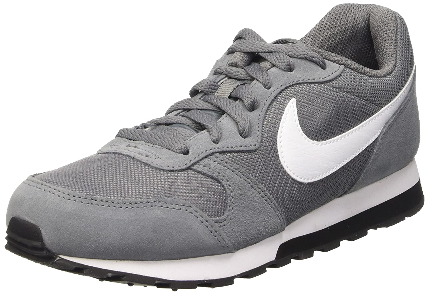 timeless design f28cb e1f5d Amazon.com   Nike MD Runner 2 (GS) Running Trainers 807316 Sneakers Shoes  (4.5 M US Big Kid, Cool Grey White Black 002)   Sneakers