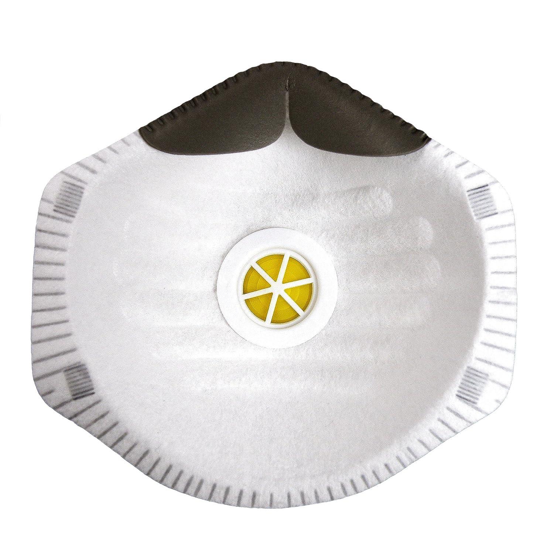 S&R Máscarilla Respiratoria Anti-polvo y Pintura, Nivel de protección FFP2. Set 10 Máscarillas Respiradoes: Amazon.es: Bricolaje y herramientas