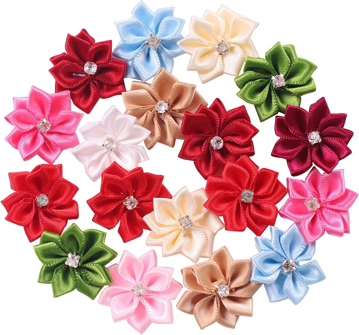 PACK 2 ROSE BASKET EMBELLISHMENTS FOR CARDS AND CRAFTS ANNIVERSARY