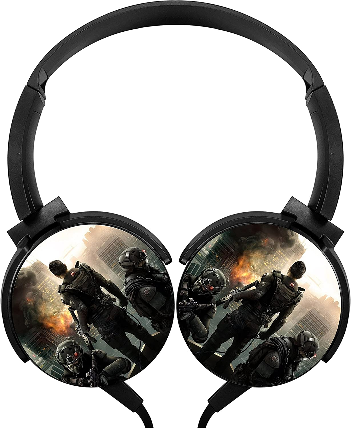 Tom Clancy s Rainbow Six Siege con cable auriculares estéreo Bass ...