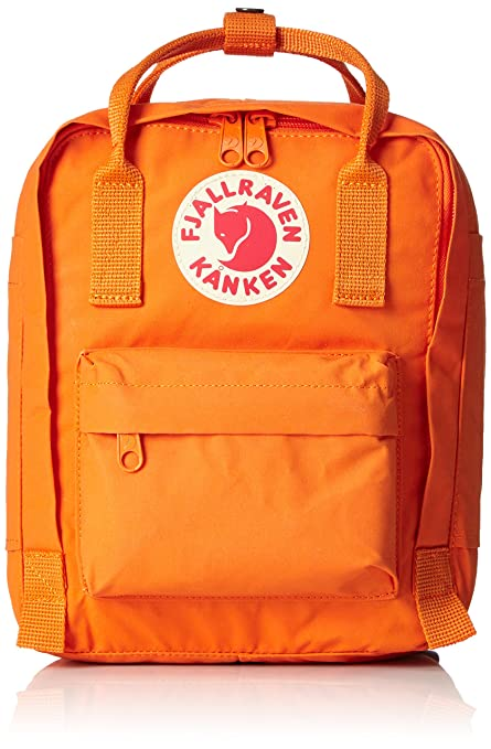 Amazon Com Fjallraven Kanken Kids Daypack Burnt Orange Sports