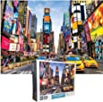 Times Square New York Jigsaw Puzzle - 1000 Piece Jigsaw Puzzles for Adults