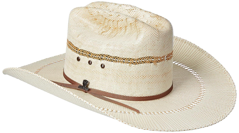 73c892158cf795 ARIAT Men's 2-Tone Bangora Open Brim Cowboy Hat at Amazon Men's Clothing  store:
