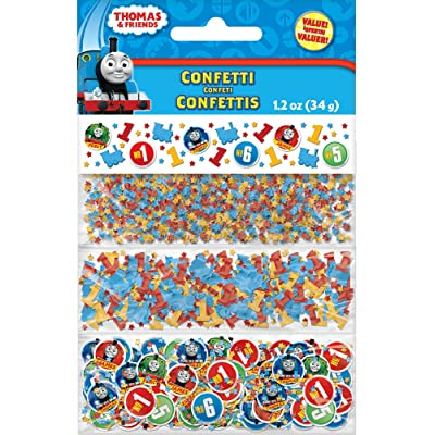 amscan :Thomas & Friends 3 Variety Party Confetti: Toys & Games