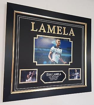 New Erik Lamella Signed Photo With AFTAL DEALER Ceriticate