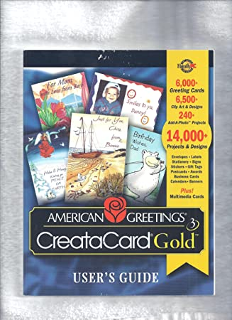American greetings creatacard users guide gold amazon american greetings creatacard users guide gold m4hsunfo Choice Image
