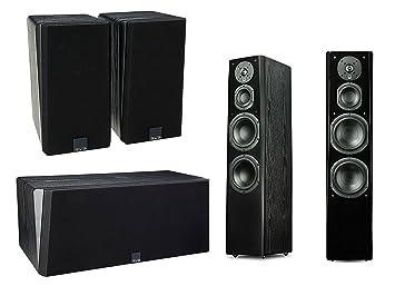 5a5c3300a4d SVS Prime Tower 5.0 Surround Sound System (Premium Black Ash)  Amazon.ca   Electronics