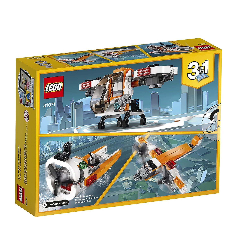 109 Piece LEGO Creator 3in1 Drone Explorer 31071 Building Kit