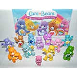 Care Bears Deluxe Figure Set of 12 with Baby Wonderheart Bear, Harmony Bear, Good Luck Bear, Wish Bear, Share Bear and Many More!