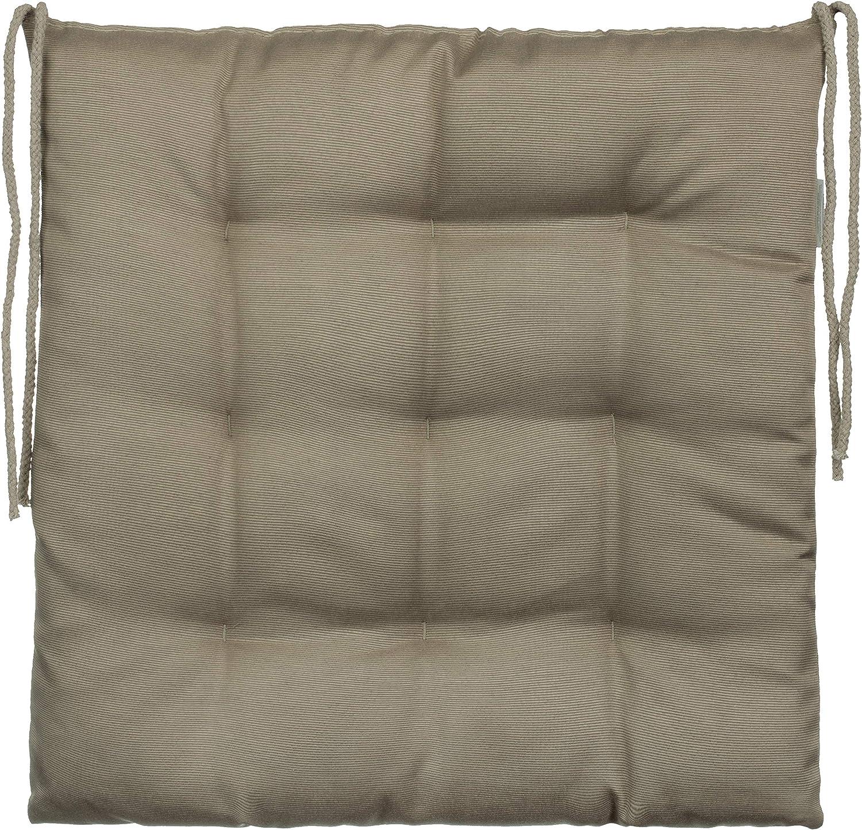 2er-Paket 9 pespuntes Brandsseller/ varios dise/ños Negro poli/éster /Coj/ín decorativo de asiento para silla de jard/ín