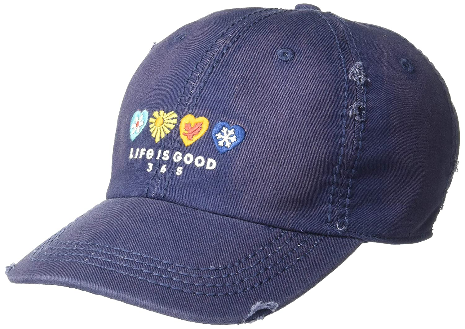 Life is Good Sunwashed Chill Cap Baseball Hat Collection