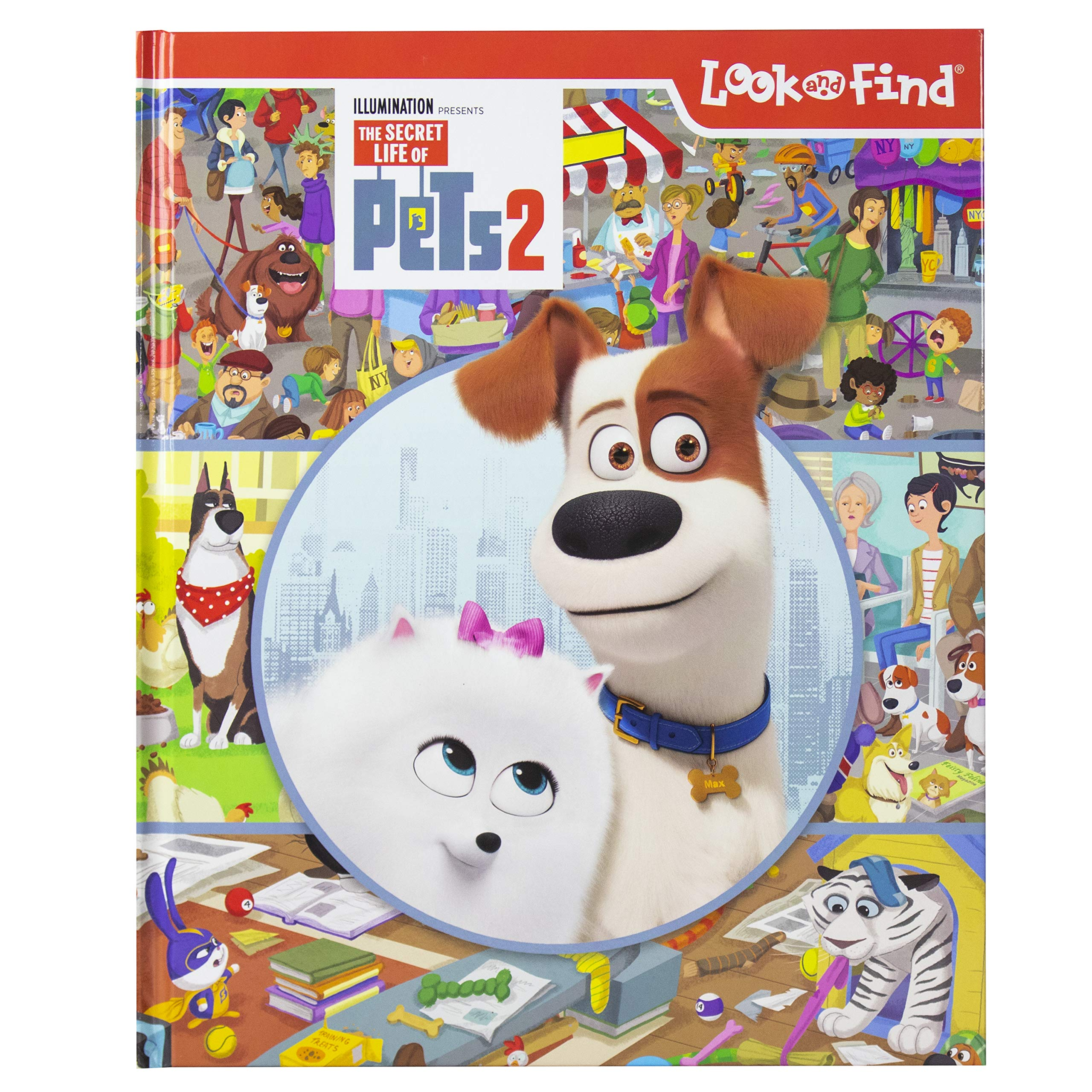The Secret Life Of Pets 2 Look And Find Activity Book Pi Kids Editors Of Phoenix International Publications Editors Of Phoenix International Publications Editors Of Phoenix International Publications Editors Of Phoenix