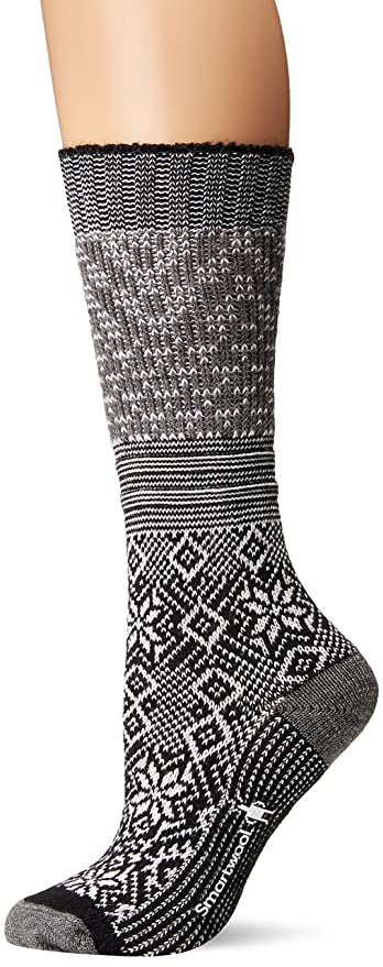 99c6af789c46a Smartwool Women's Snowflake Flurry at Amazon Women's Clothing store: