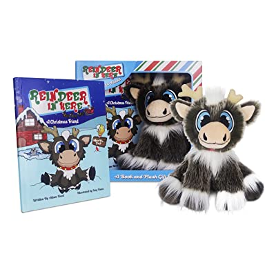 """Reindeer In Here: A Christmas Friend (Book & 8"""" Plush Gift Set) - The Most Awarded Christmas Tradition Brand!: Toys & Games"""