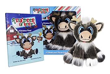 Amazon Com Reindeer In Here A Christmas Friend Book 8 Plush