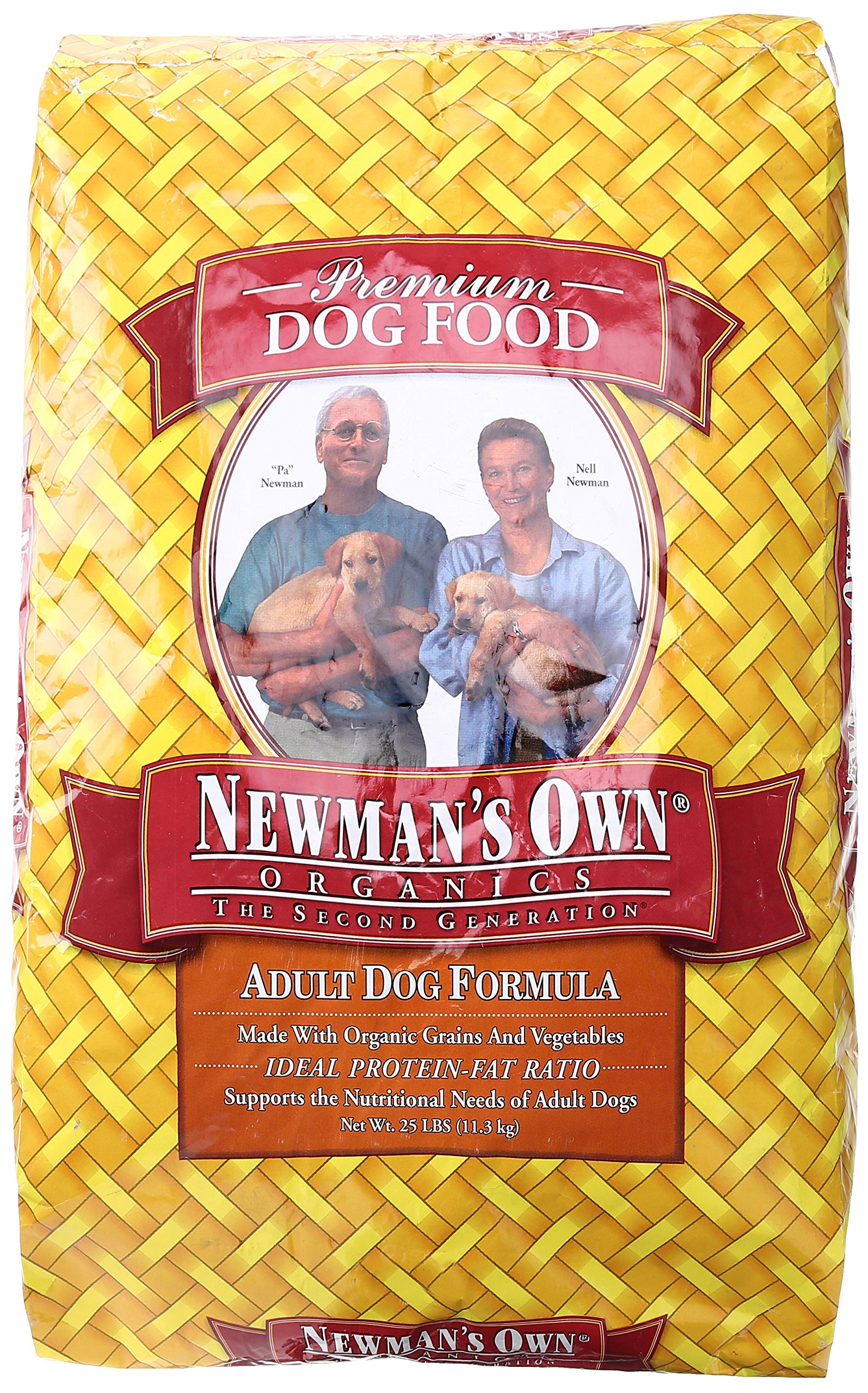 NEWMANS OWN ORGANIC DOG ADULT CHKN&RICE FORMU, 25 LB by Newman's Own