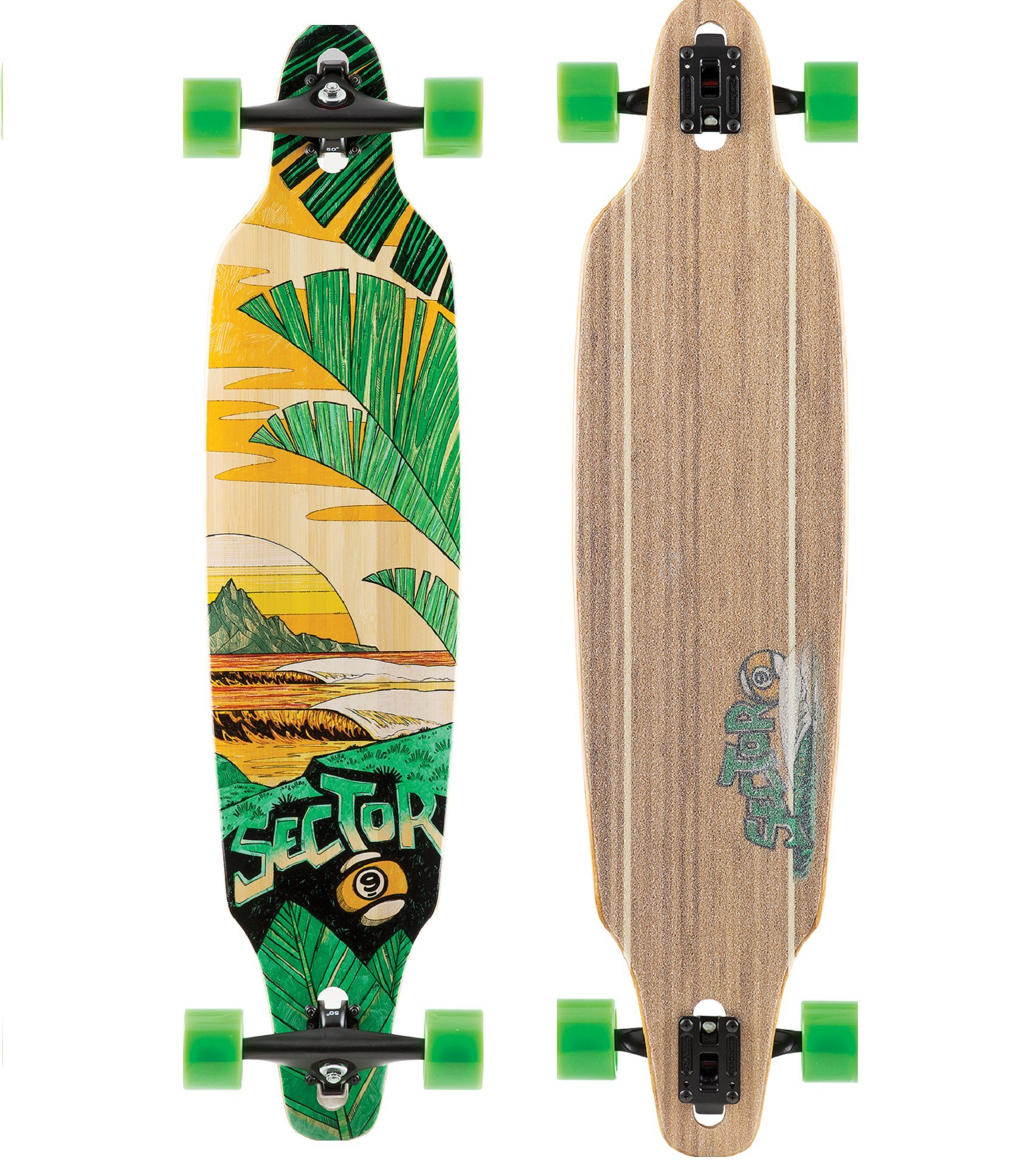 Sector 9 Bamboo Series Lookout 41.13'' Complete Longboard