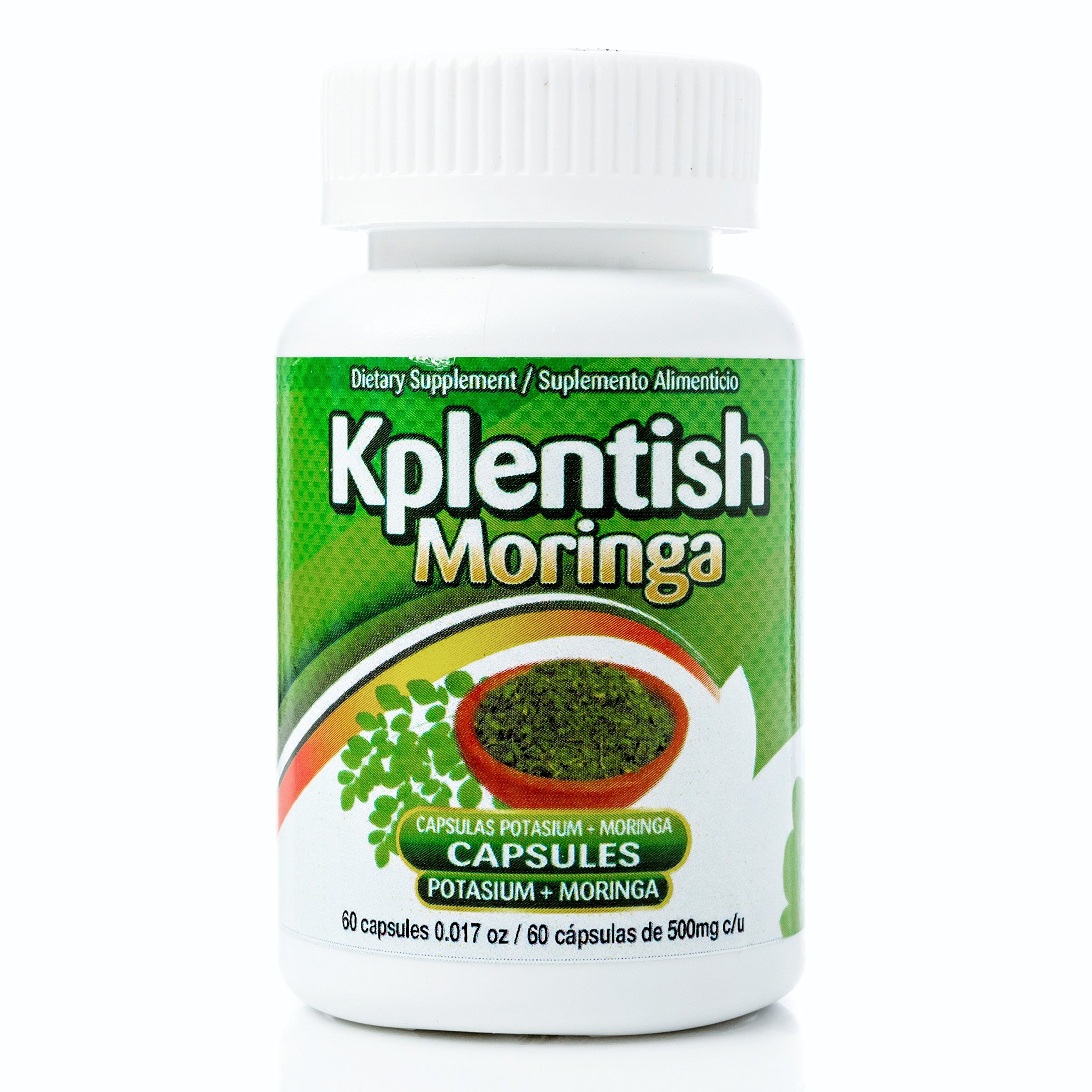 Kplentish Potassium and Moringa Supplement 30 Day Supply combine with Alipotec and Weight Control Supplements