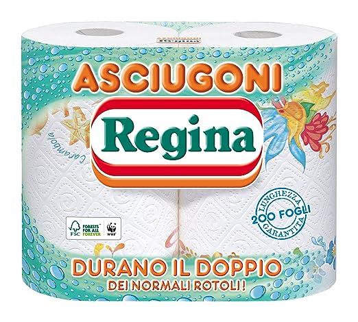 8 opinioni per Regina- Asciugoni, Asciugatutto, 2 rotoli