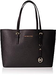 071ac21db254 Michael Kors Women's Leather Handbag (30S4GTVT2L230_LUGGAGE): Amazon ...