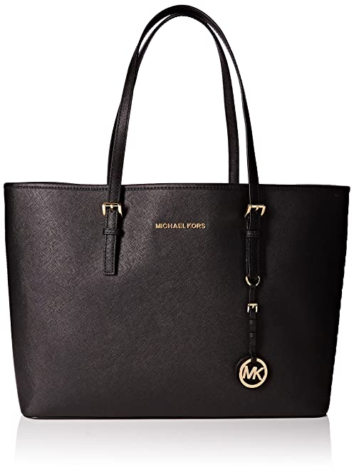 Michael Kors Women\u0027s Jet Set medium tote Shopper black Size: one size