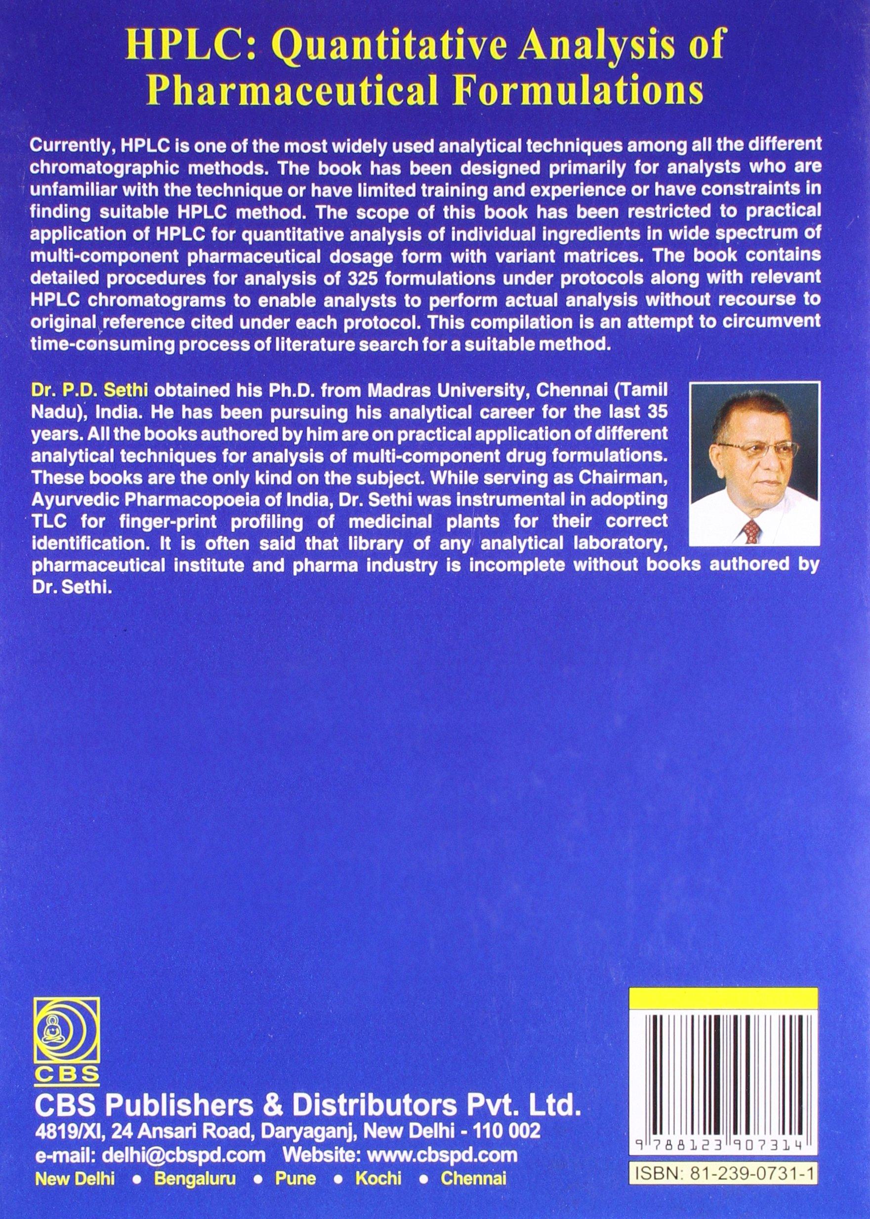 Pd Sethi Book
