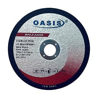 Amazon.com: Oasis - Ruedas de corte para metal y acero ...