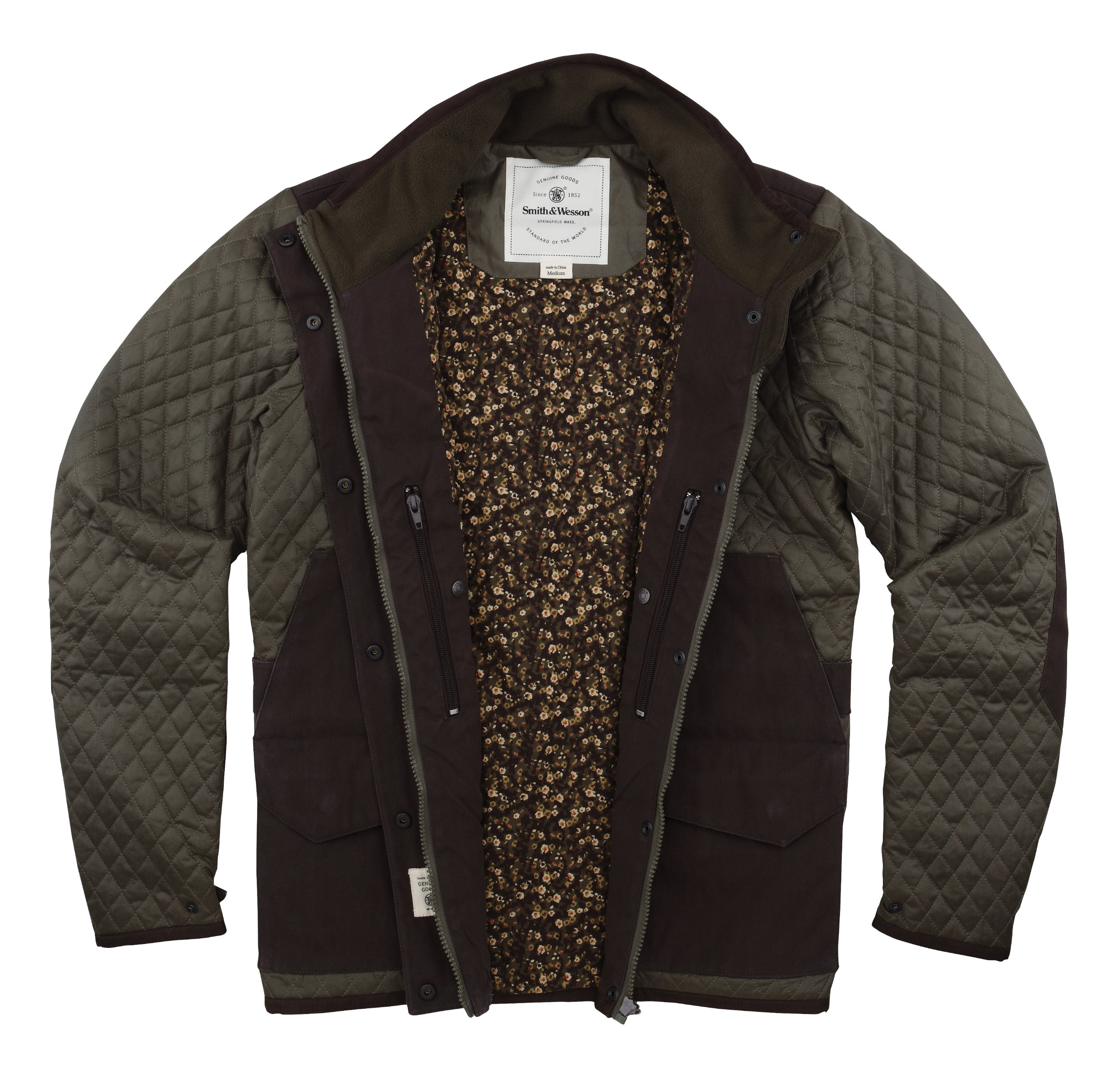 Smith &Wesson Women's Tracking Jacket Large Olive Green by Smith & Wesson (Image #2)