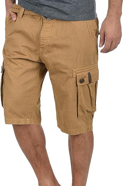 Solid Valongo Pantalón Cargo Bermudas Pantalones Cortos para ...