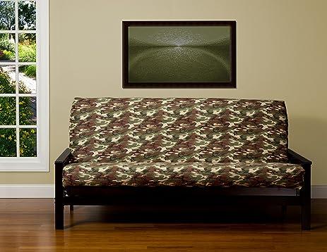 sis cover galaxy camo futon cover fabric  removable futon cover fabric only  futon frame amazon    sis cover galaxy camo futon cover fabric  removable      rh   amazon