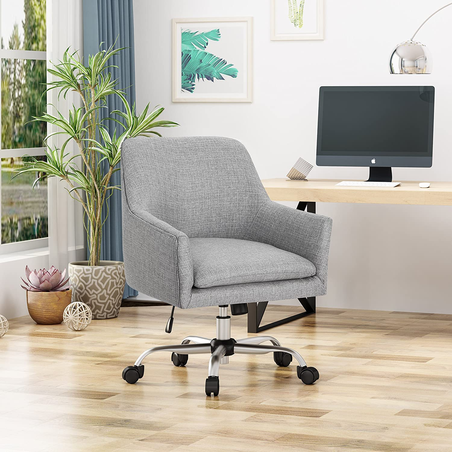 Christopher Knight Home Morgan Home Office Chair, Gray