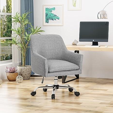 Amazon.com: Morgan Mid Century - Silla de oficina con base ...