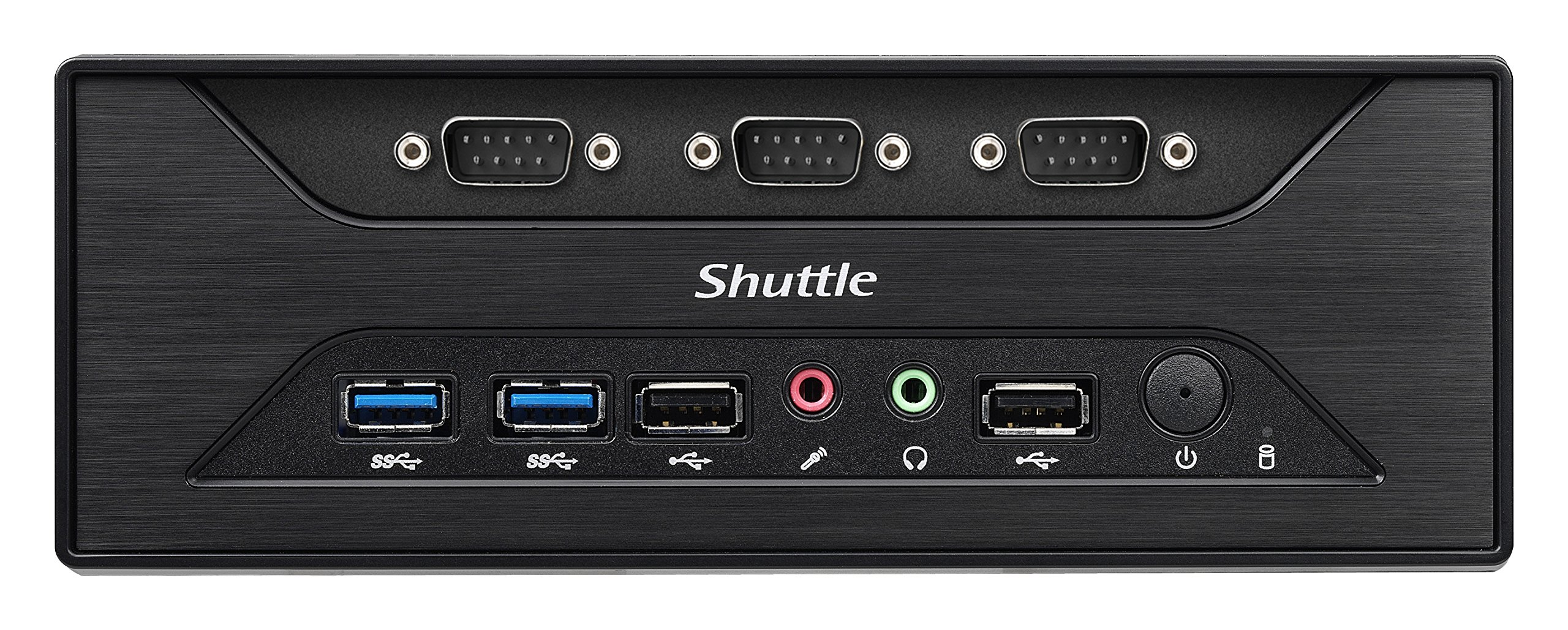 Shuttle XPC Slim XC60J Intel Celeron J3355, 8 x COM Ports, Support SODIMM DDR3L (Max. 16GB), Include Heatpipe Cooling Module by Shuttle (Image #5)