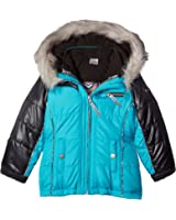 London Fog Girls' 4 Ways-to-Wear Systems Jacket Coat