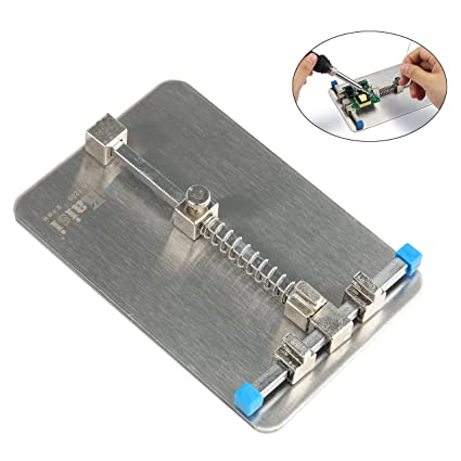 universal stainless steel pcb holder circuit board holder fixture rh amazon com